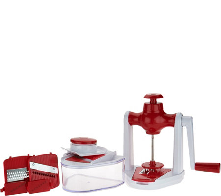 Cook's Essentials 36 oz Spiral Slicer Combo Set