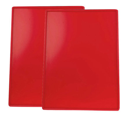"Technique Set of 2 17"" x 12-1/2"" Silicone Baking Boards"