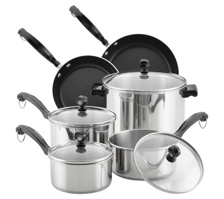 Farberware Classic Series 12-Piece Cookware Set