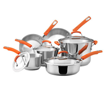 Rachael Ray Stainless Steel II Cookware Set