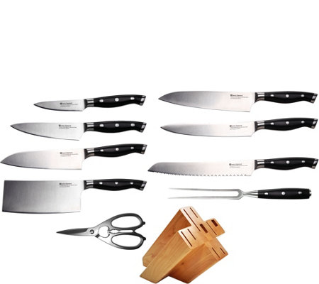 Swiss Diamond 10-Piece Knife Block Set