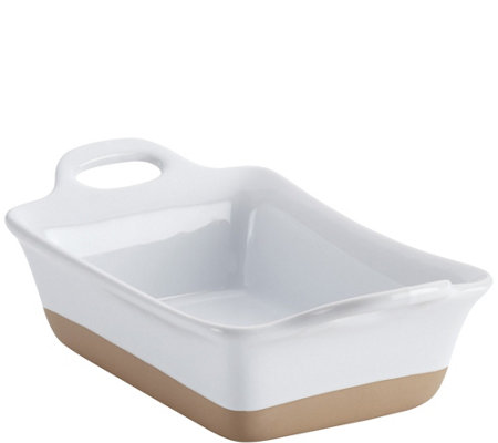 Rachael Ray 12-oz Collection Stoneware Rectangular Au Gratin