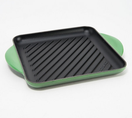 "Le Creuset 9.5"" Square Cast Iron Grill Pan"