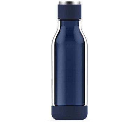 Asobu 17 Oz Inner Peace Glass Water Bottle