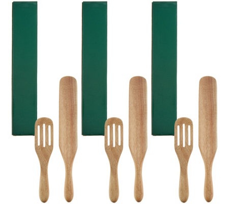 Mad Hungry Set of 3 (2) piece Spurtle Set