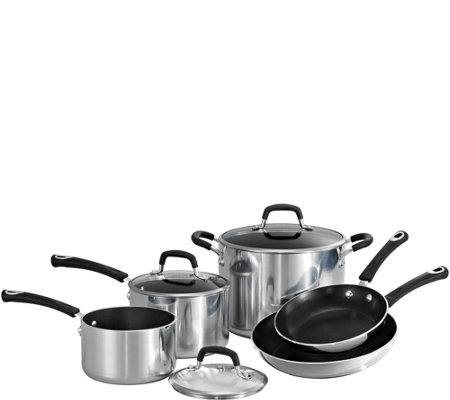 Tramontina Style Polished 8-Piece Cookware Set