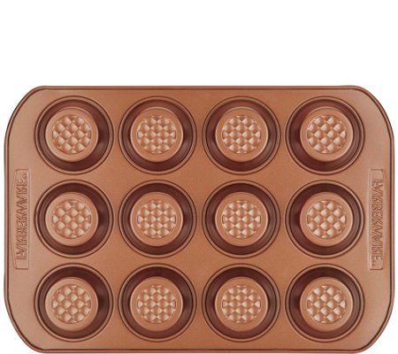 Farberware 12-cup Colorvive Nonstick Muffin Pan