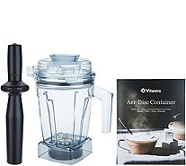 Vitamix Aer Disc 6-in-1 48-oz Specialty Container with Recipe Book - K48229