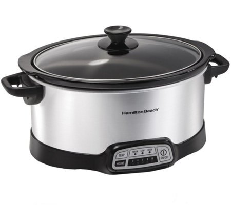 Hamilton Beach Programmable 7 Quart Slow Cooker