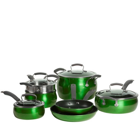 Epicurious Aluminum Nonstick 11-Piece Cookware Set