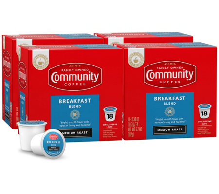 Community Coffee 72-ct Breakfast Blend Single-Serve Cups