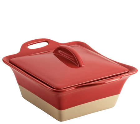 Rachael Ray 2.5-qt Collection Stoneware SquareCasserole