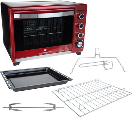 Cook's Essentials Precision Oven w/ Accessories