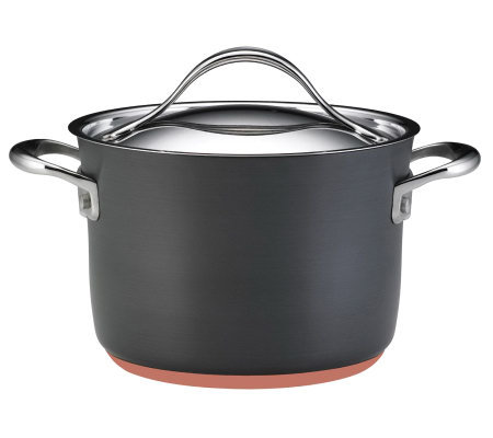 Anolon Nouvelle Copper 4-qt Covered Sauce Pot
