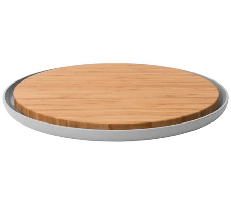 Berghoff Leo 14 25 Bamboo Cutting Board With Plate
