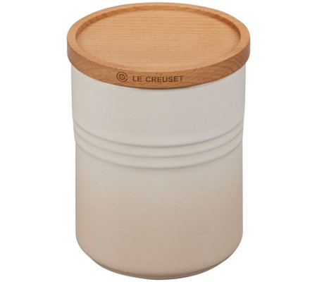 Le Creuset 22-oz Canister with Wooden Lid