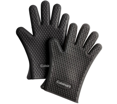 Cuisinart Two Pack Heat Resistant Silicone Gloves