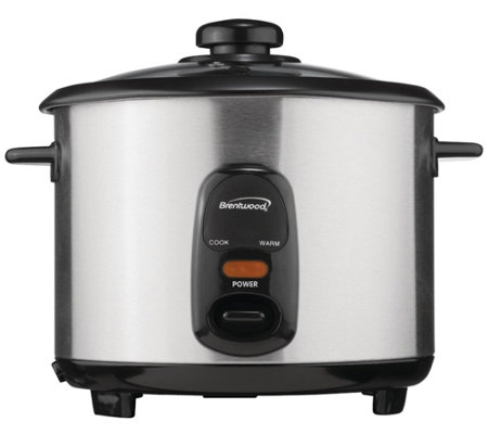 Brentwood Appliances 10-Cup Stainless Steel Rice Cooker