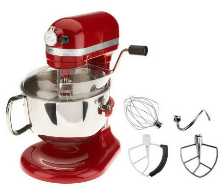 Astonishing Kitchenaid Pro 600 6 Qt 575 Watt Bowl Lift Stand Mixer W Flex Qvc Com Download Free Architecture Designs Scobabritishbridgeorg