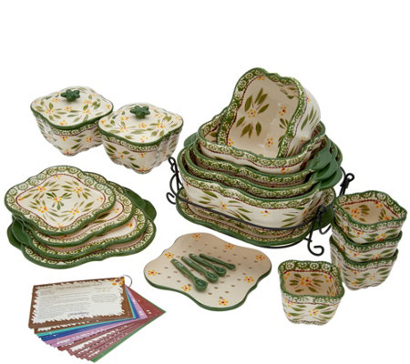 Temp-tations Old World 25-Piece Bakeware Set