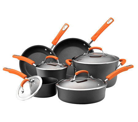 Rachael Ray Hard Anodized II 10-Piece CookwareSet