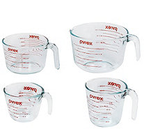 Pyrex Classic Kitchen 4-Piece Mixing and Measuring Cup Set - K305735