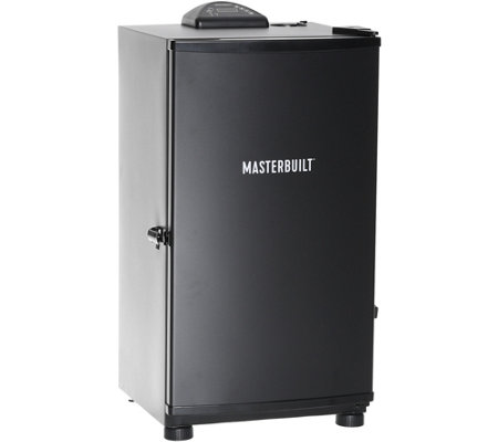 "Masterbuilt 30"" Digital Electric Smoker w/ Integrated Meat Probe"