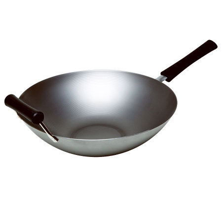 "Asian Origins 14"" Carbon Steel Wok"