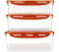 Lock & Lock 3pc Refrigerator Set - K45536