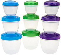 Sistema To Go 9-Piece Snack 'n' Nest Storage Set - K46636