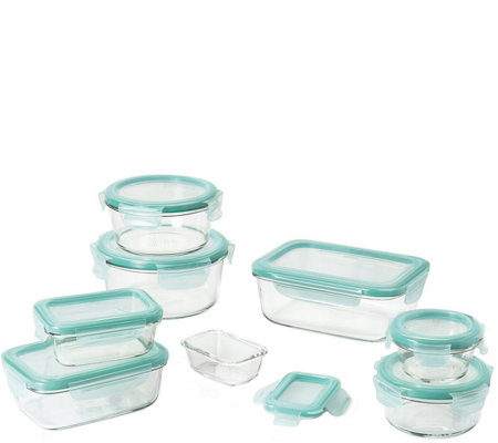 OXO Good Grips 16-Piece SNAP Glass Container Set