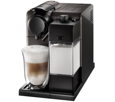 Nespresso Lattissima Touch Black Espresso Machine by DeLonghi