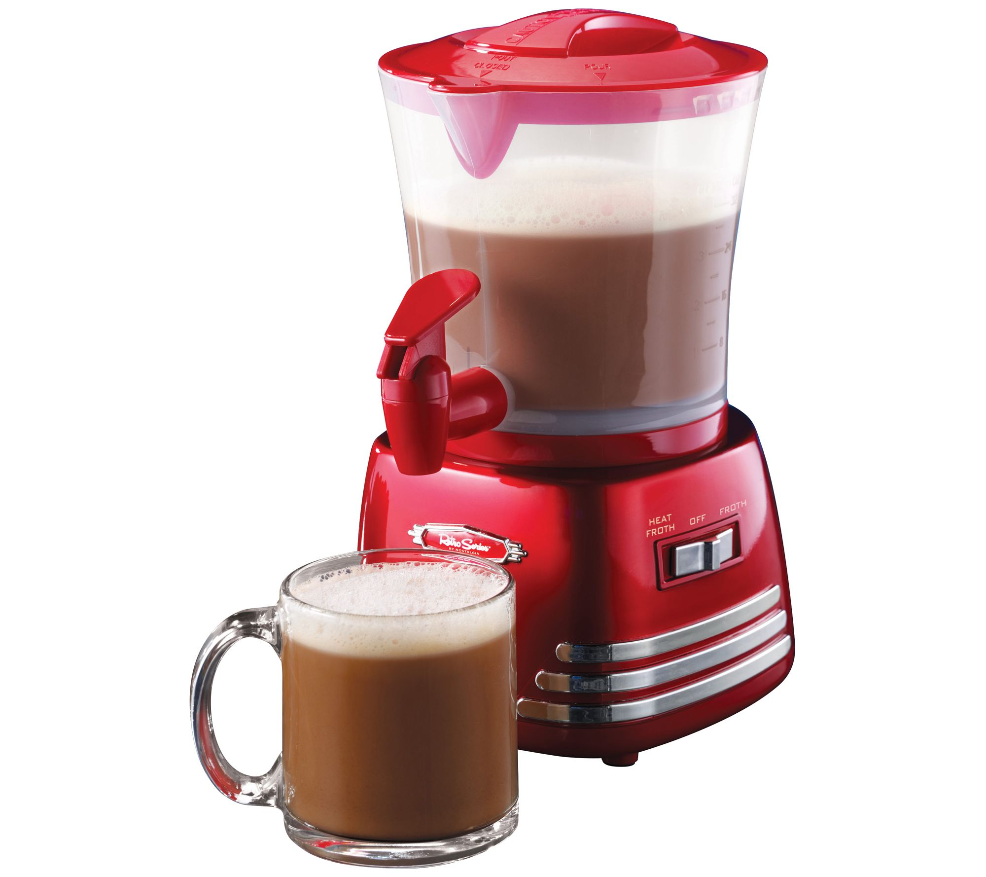 25% off a hot chocolate maker & frother