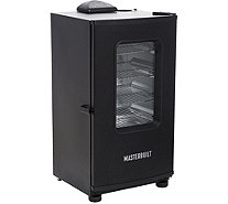 "Masterbuilt 30"" 4-Rack Digital Electric Smoker with Window and Cover - K47537"
