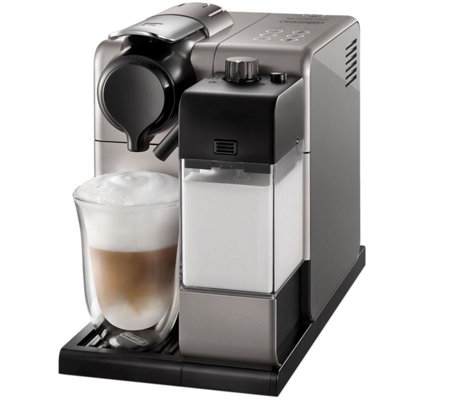 Nespresso Lattissima Touch Silver Espresso Machine by DeLongh