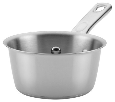 Ayesha Curry Home Collection 1-Qt Stainless Steel Saucepan