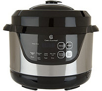 Cook's Essentials 2qt Digital Stainless Steel Pressure Cooker - K46039