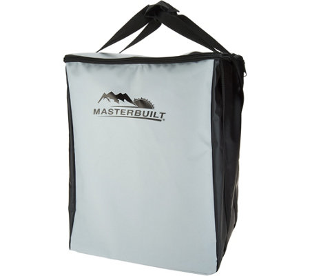 Masterbuilt 2-rack Portable Electric Smoker 2-in-1 Carry Bag & Cover
