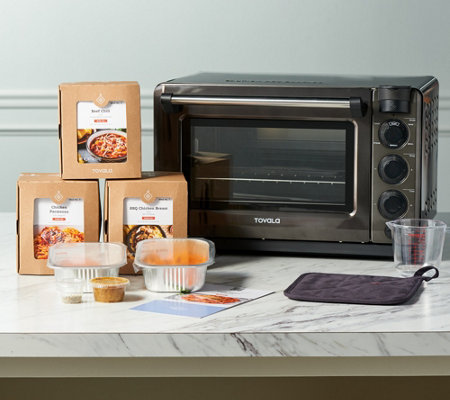 Tovala Smart Steam Countertop Oven with Choice of 4 Meal Kits