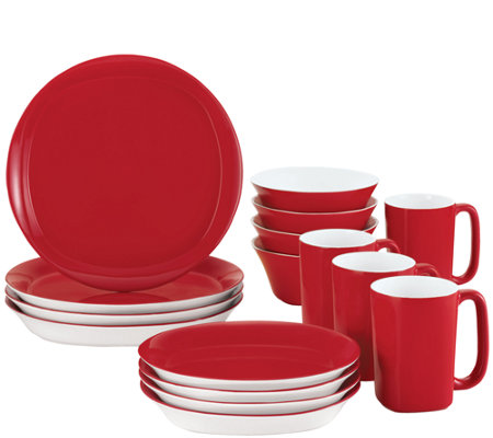 Rachael Ray Round and Square 16-Piece Set