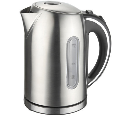 MegaChef 1.7-Liter Stainless Steel Electric Teakettle