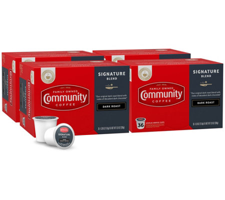 Community Coffee 144-ct Signature Dark Roast Single-Serve Cups