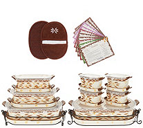Temp-tations Old World 21-Piece Bakeware Set - K47541