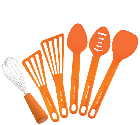 Rachael Ray Tools 6-Piece Tool Set - Orange