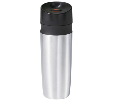 OXO Good Grips Stainless Steel Double Wall  22-oz Travel Mug