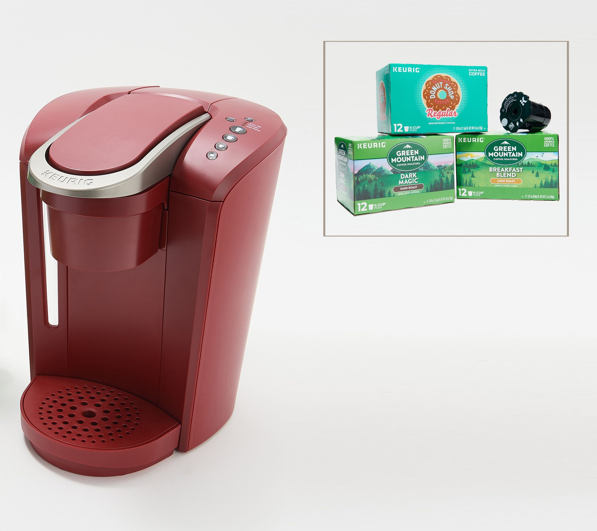 Start your day right with a Keurig coffee maker