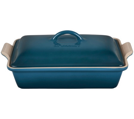 Le Creuset 4-qt Heritage Covered Rectangular Casserole