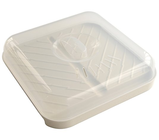Nordic Ware Slanted Bacon Tray with Lid