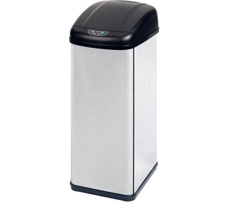 Honey-Can-Do 52-Liter Square Sensor Trash Can