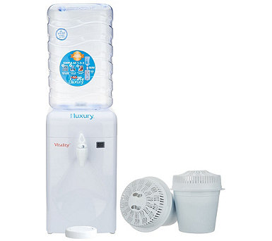 Little Luxury 1.8-Gallon Water Cooler with Filter System - K47244